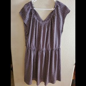 Lauren Conrad XL Floral Summer Cinched Dress